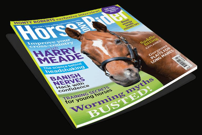 Horse&Rider September 2016 cover