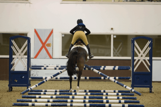 Pippa Funnell jumping