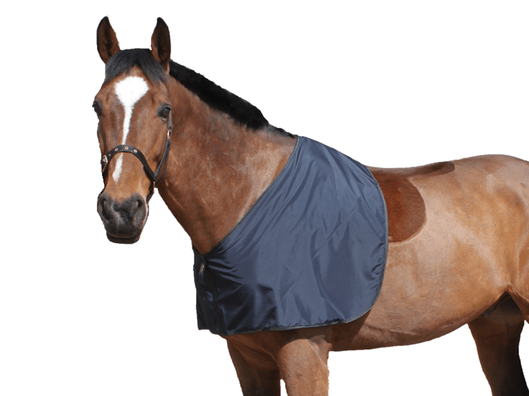 Snuggy Hoods silky anti-rub horse bib