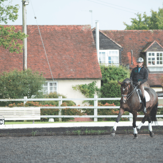 How to ride lateral movements with Michael Eilberg | Horse&Rider