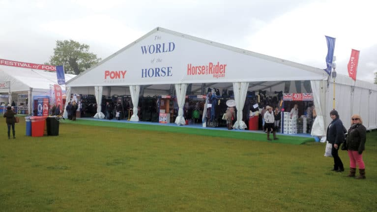 The World of the Horse Exhibitors – Badminton
