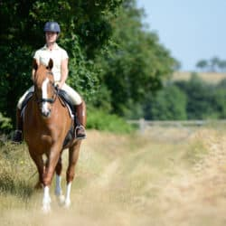 Feel confident after time off from riding