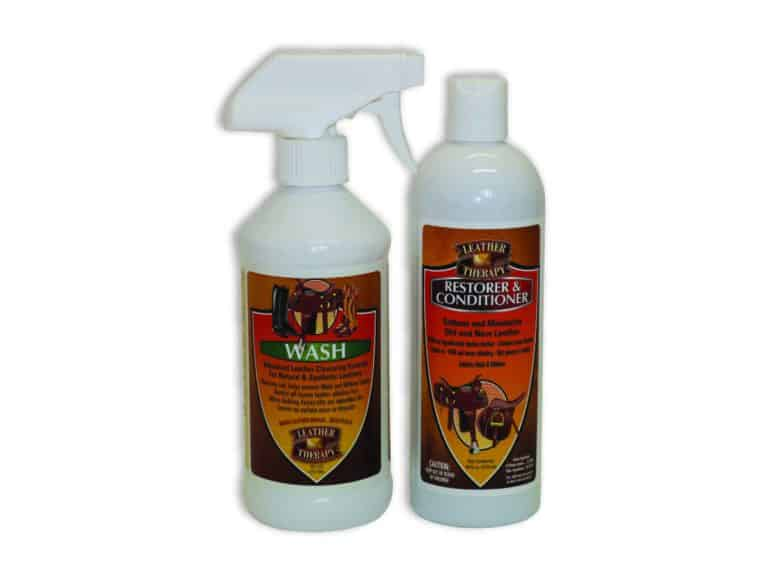 Absorbine Leather Therapy tack cleaning