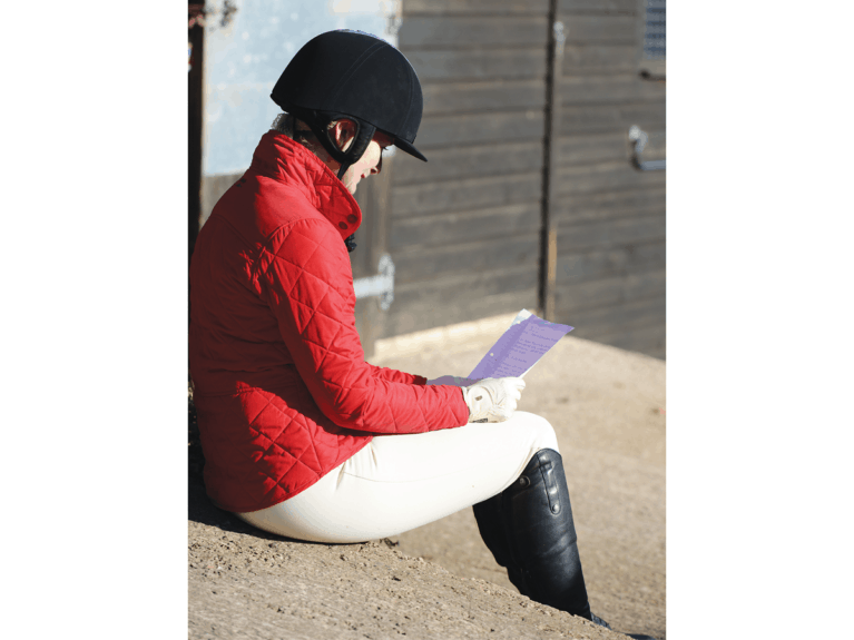 Setting goals to help with riding confidence