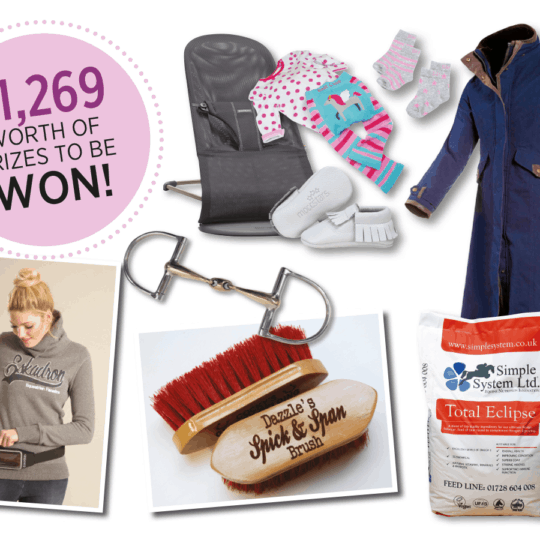 Horse&Rider January Giveaways