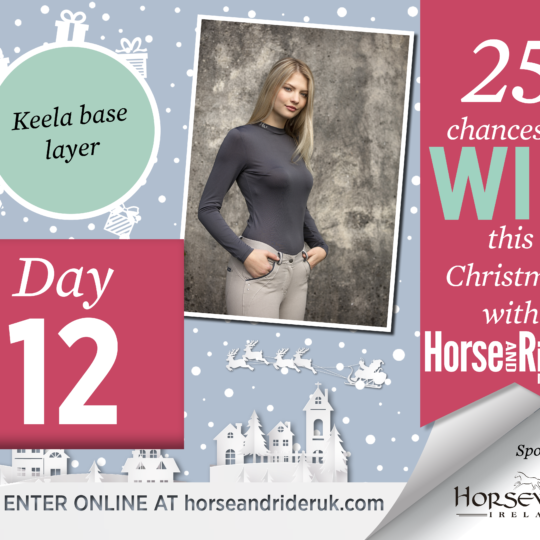 Horse&Rider Advent Calendar 2017 – Day 12