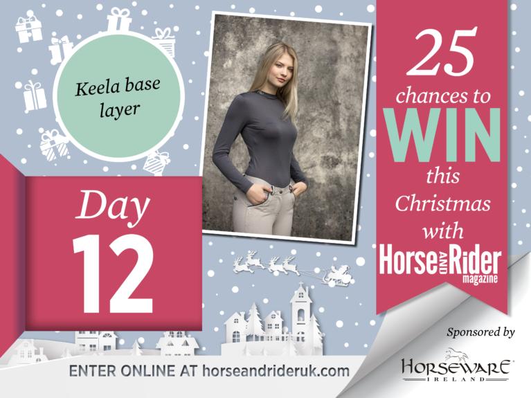 Horse&Rider Advent Calendar 2017 – Day 12