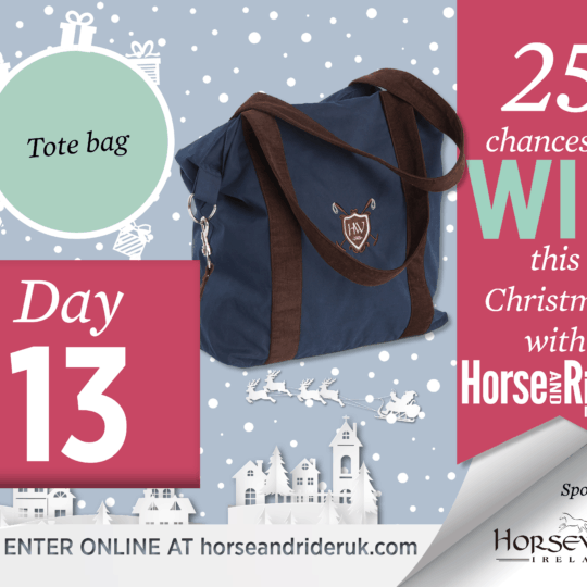 Horse&Rider Advent Calendar 2017 – Day 13