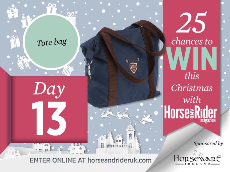 Horse&Rider Advent Calendar 2017 – Day 13