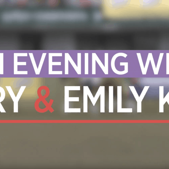 An evening with Mary & Emily King
