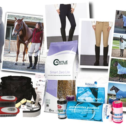 Prize giveaway in July Horse & Rider