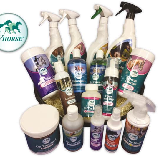 IV Horse grooming product hamper giveaway