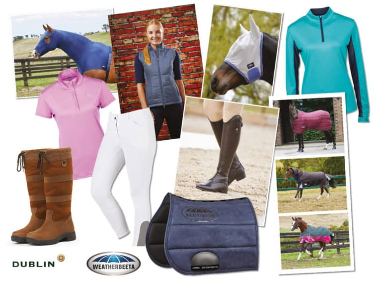 Win a wardrobe for you and your horse from Dublin and Weatherbeeta