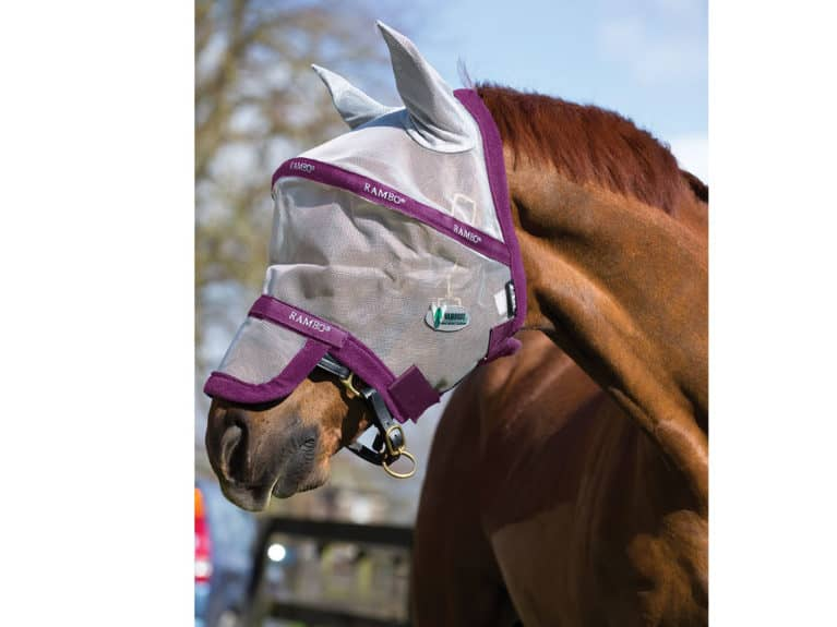 Horseware Rambo Plus with Vamoose fly mask