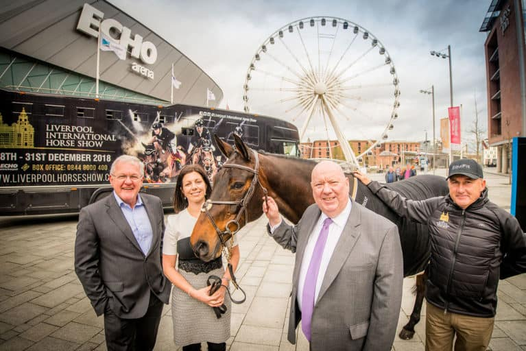 Liverpool International Horse Show patrons and organisers