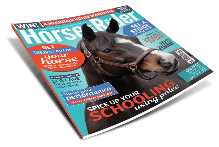 Horse and Rider August issue