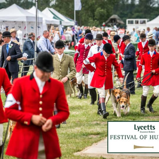 Lycetts Festival of Hunting Horse&Rider competition
