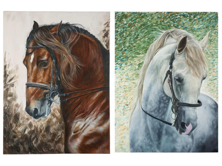 Equine prints by Caroline Towning