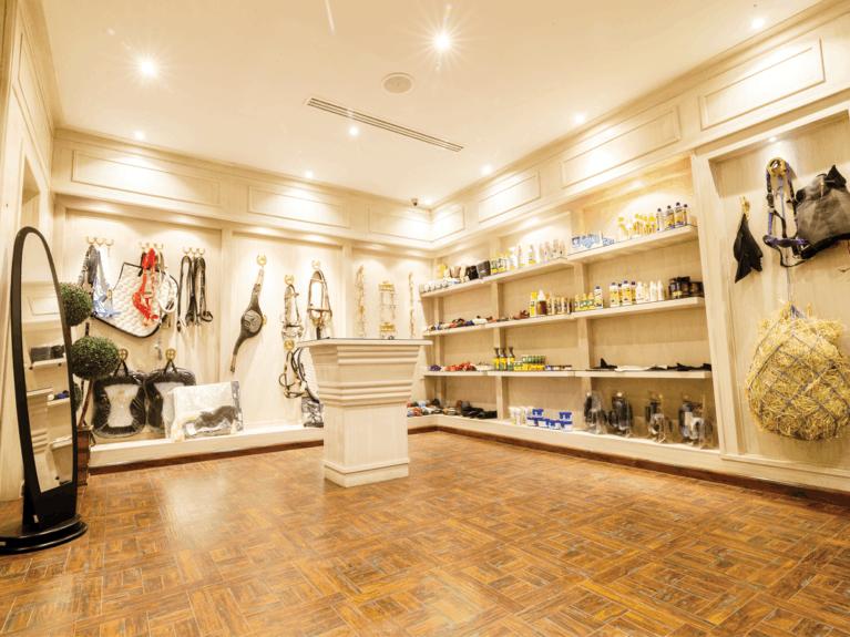 Le Monde du Cheval showroom