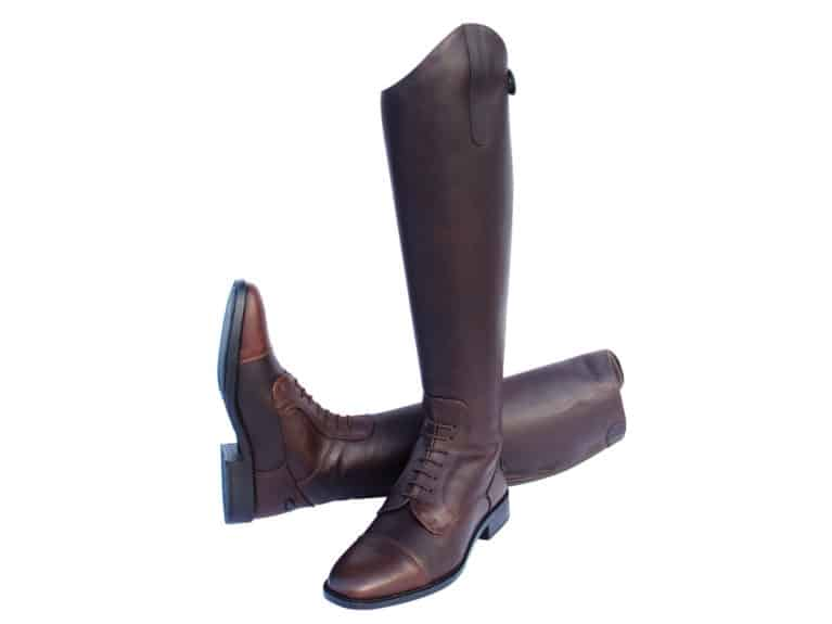 Rhinegold Luxus long leather riding boots