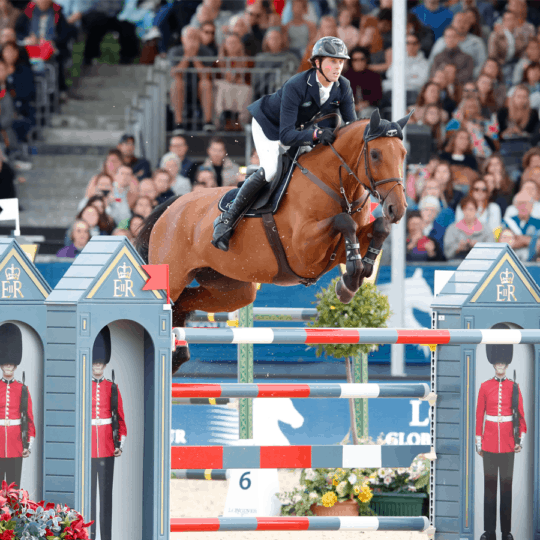 Ben Maher at Longines Global Champions Tour London