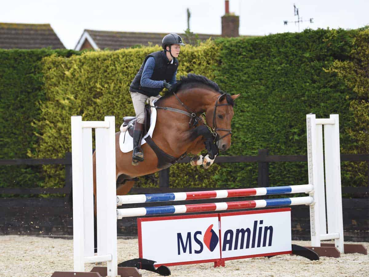 Jumping Bigger Fences Showjumping Advice Horse And Rider