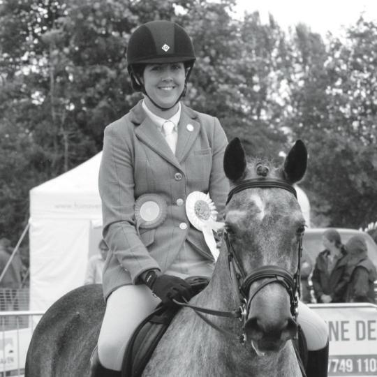 Dr Becky Lees, vet specialising in the older horse