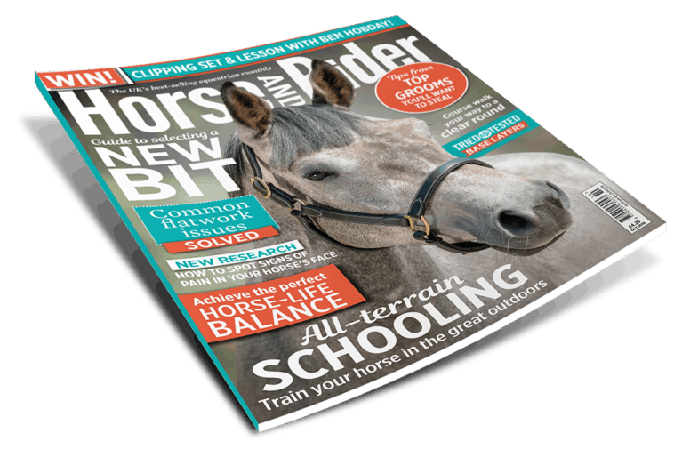October Horse and Rider Magazine