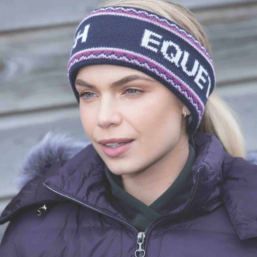Equetech Signature knit headband