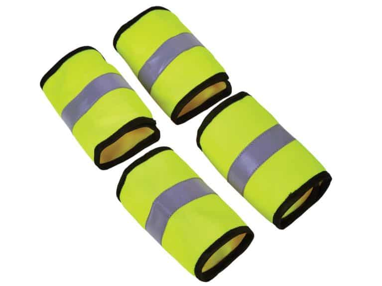 Elico Aurora reflective leg bands