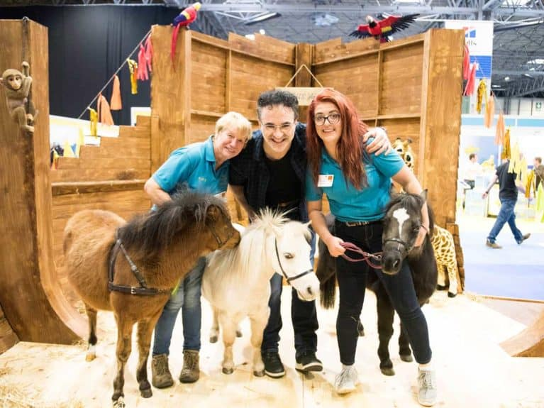 Ponies at the National Pet Show