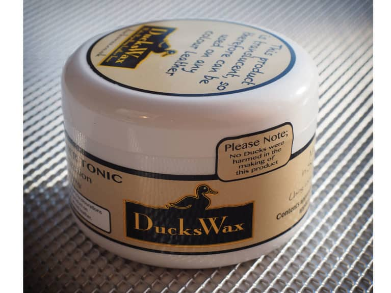 Duckswax leather care