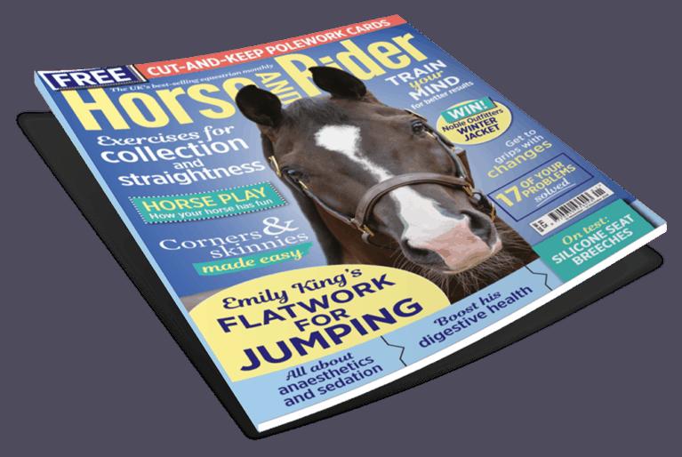 January Horse&Rider magazine