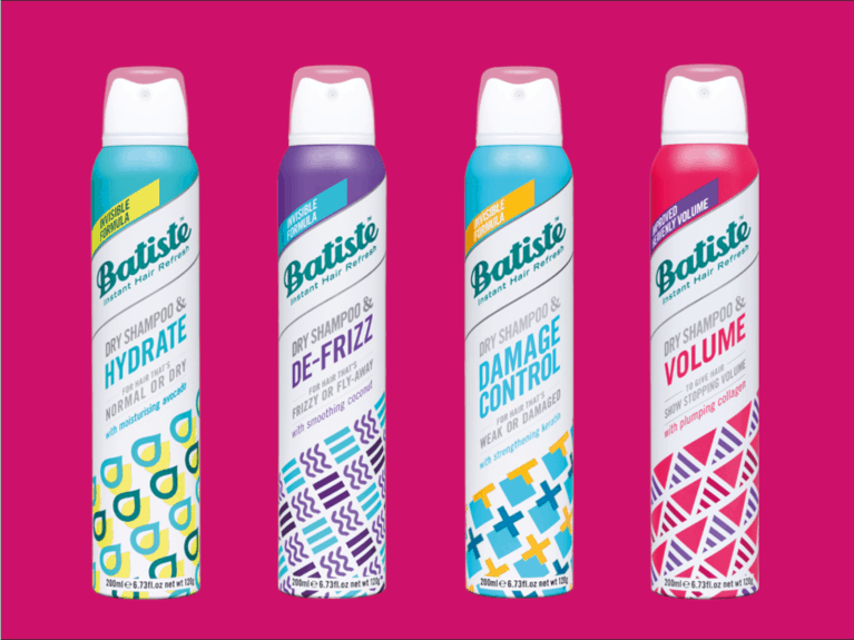 Batiste ReThink Range dry shampoo