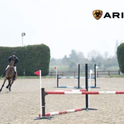 Nick Gauntlett jumping skinnies exercise, with thanks to Ariat