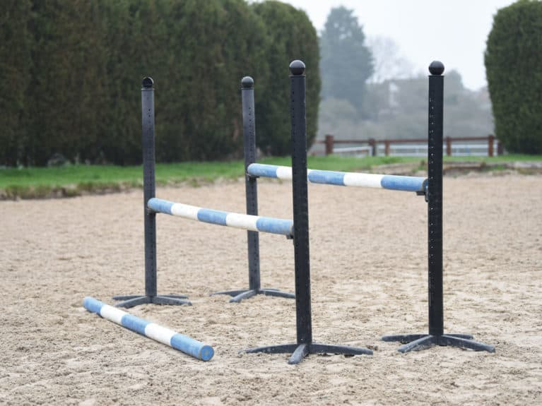 Oxer style jump