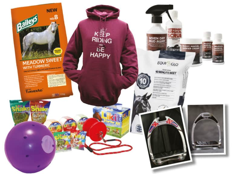 February Horse&Rider prize giveaway
