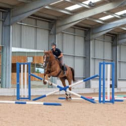 Emily King jumping grids