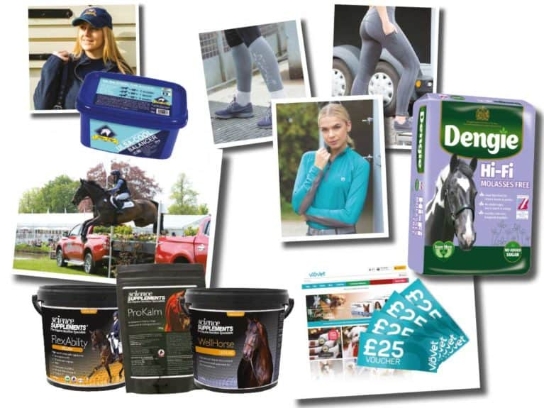 Spring Horse&Rider magazine prize giveaway