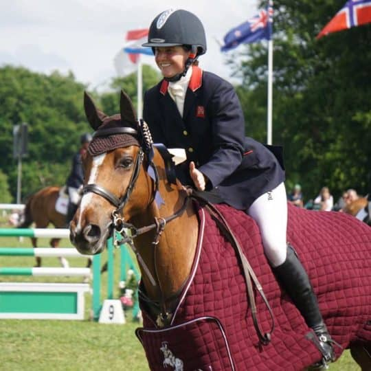 Animalife sponsored rider Piggy French