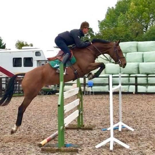 Eventer Hayden Hankey riding