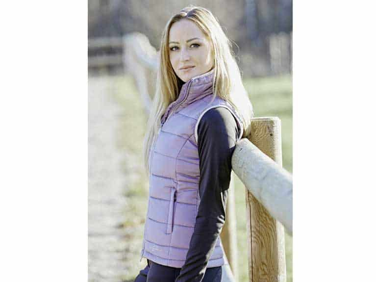 Quilted Alice gilet from Covalliero