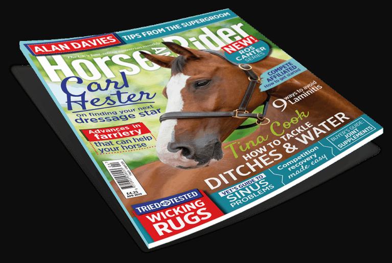 April Horse&Rider Magazine