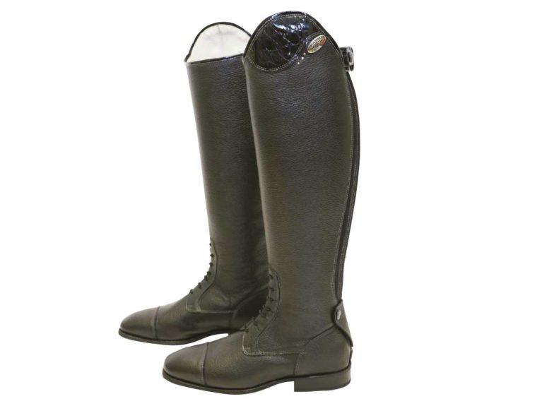 De Niro Salentino Lucido long competition boots