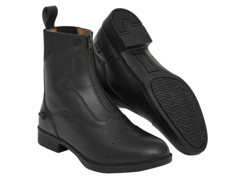 Harry Hall Harrow leather zip jodhpur boots