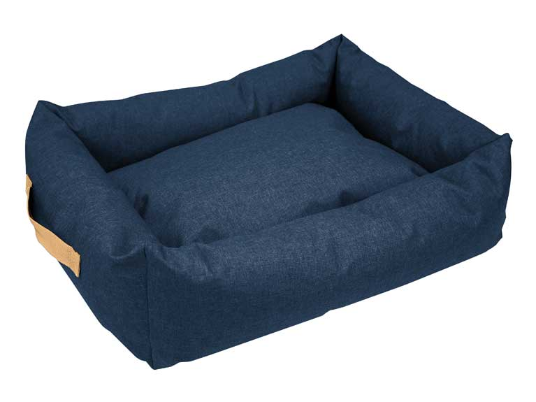 WeatherBeeta Square Denim Dog Bed