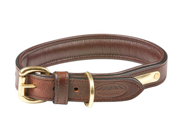 Weatherbeeta padded leather collar
