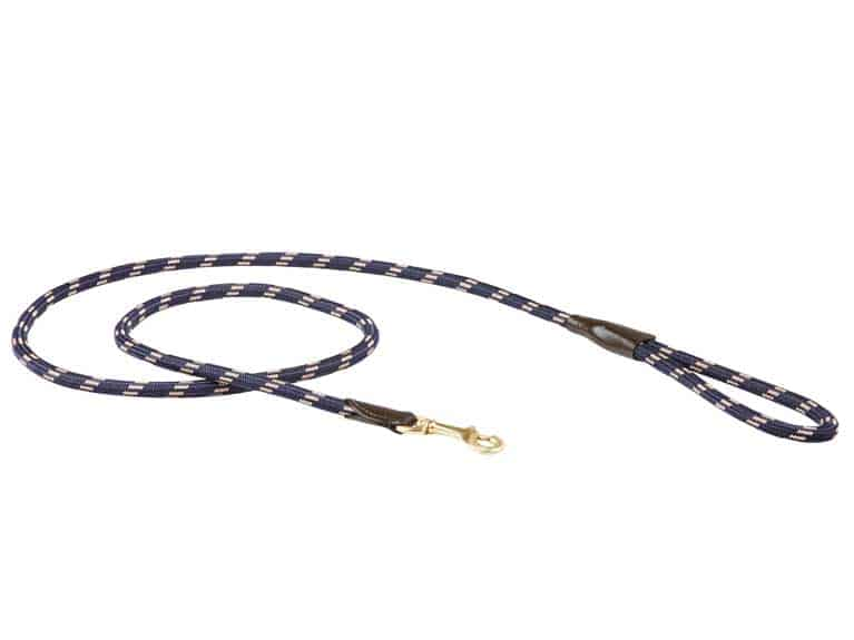 WeatherBeeta Rope Leather Dog Lead