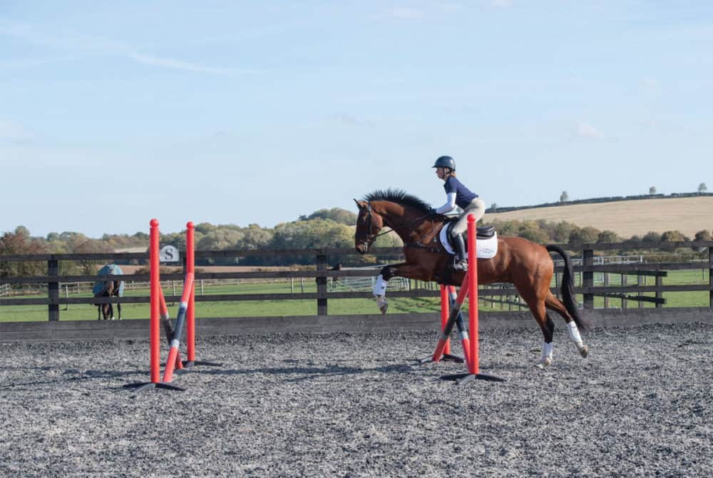 Ros Canter jumping