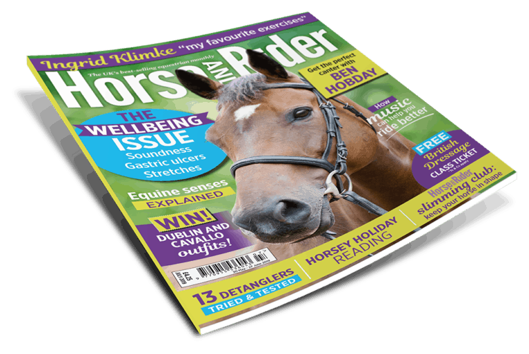 July Horse&Rider magazine